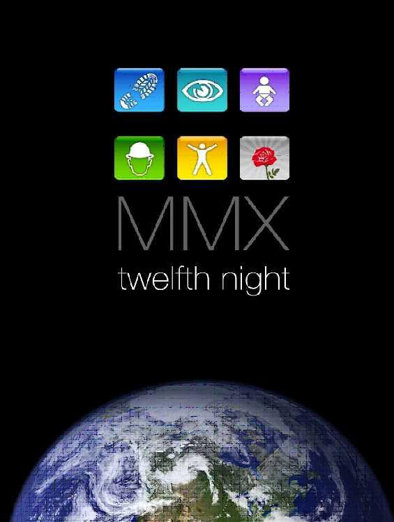 TWELFTH NIGHT - MMX - DVD