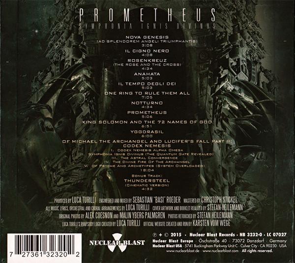 Luca Turilli`s Rhapsody Prometheus (Symphonia Ignis Divinus)