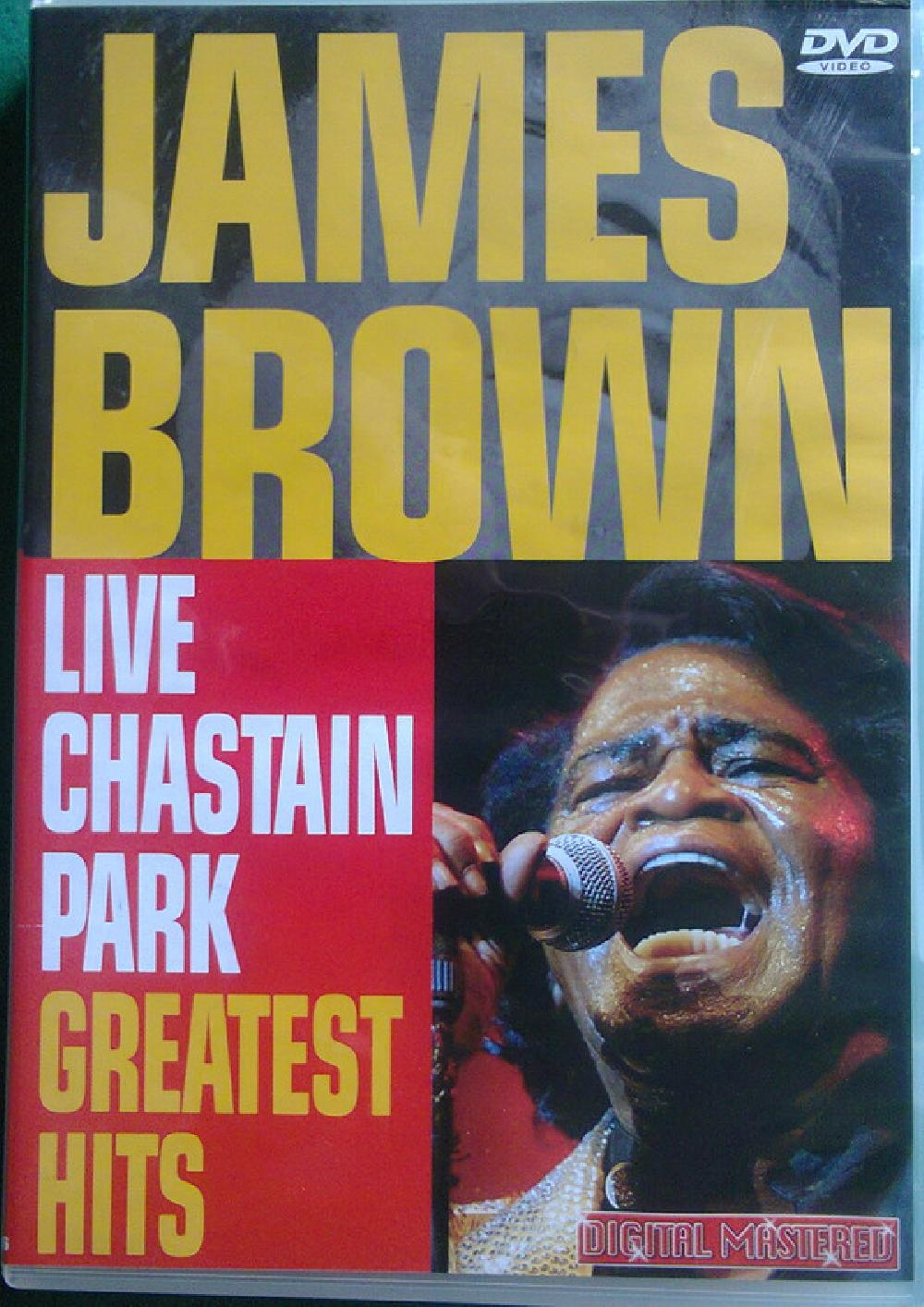 JAMES BROWN - Live At Chastain Park -Greatest Hits - DVD
