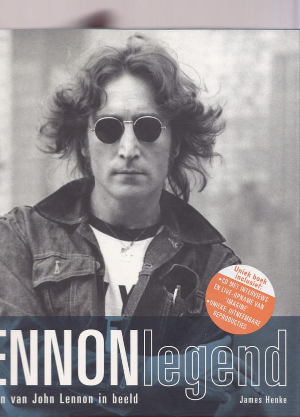 JOHN LENNON - Lennonlegend : Het Leven Van John Lennon In Beeld - Book