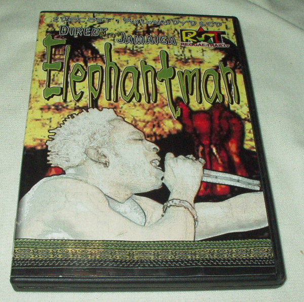 ELEPHANT MAN - Direct From Jamaica - DVD