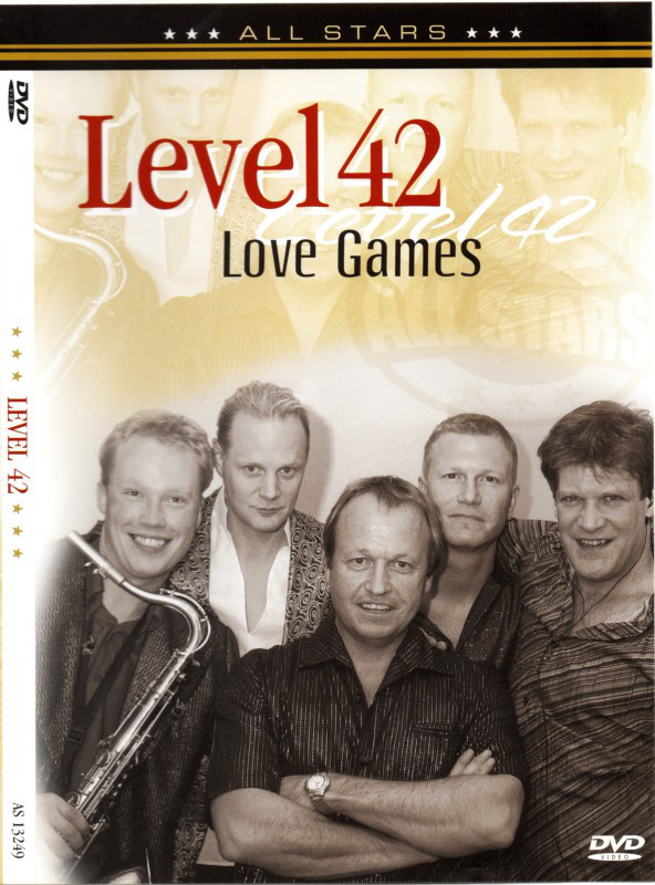 LEVEL 42 - Love Games - DVD