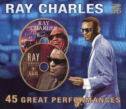RAY CHARLES - 45 Great Performances - CD