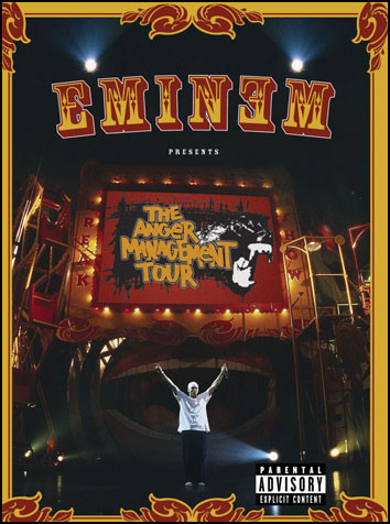 EMINEM - The Anger Management Tour - DVD