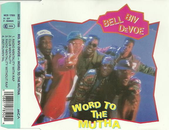 BELL BIV DEVOE - Word To The Mutha! - CD single