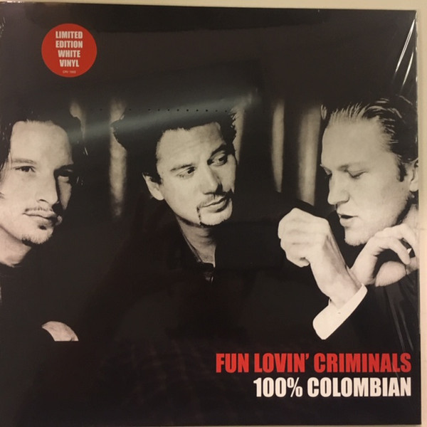 fun lovin` criminals 100% colombian white coloured vinyl