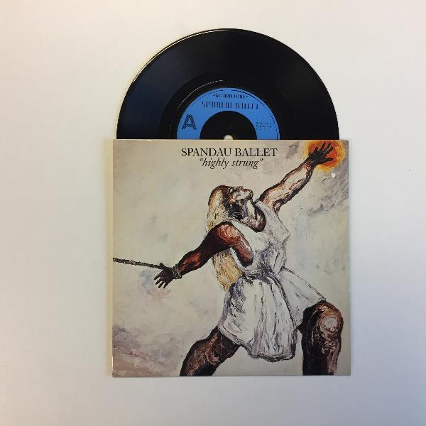 SPANDAU BALLET - Highly Strung - 7inch (SP)