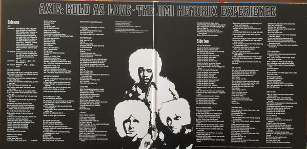 The Jimi Hendrix Experience Axis: Bold As Love