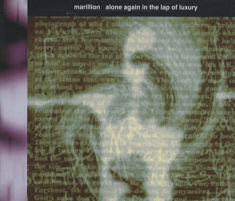 MARILLION - Alone Again In The Lap Of Luxury - CD single