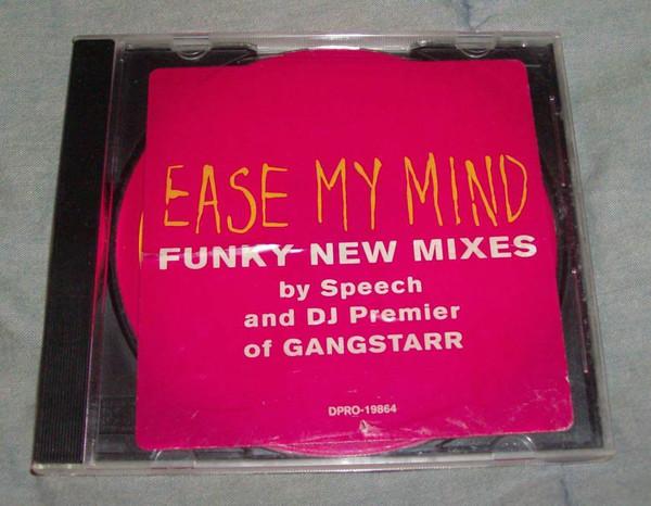 ARRESTED DEVELOPMENT - Ease My Mind - CD single