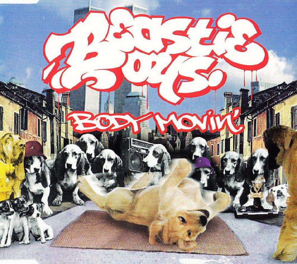 BEASTIE BOYS - Body Movin` - CD single