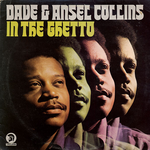 DAVE &, ANSEL COLLINS - In The Ghetto - LP