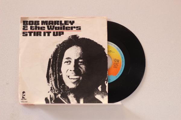 BOB MARLEY &, THE WAILERS - Stir It Up - 7inch (SP)