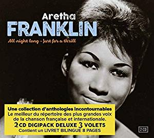 ARETHA FRANKLIN - All Night Long/Just For A Thrill - CD