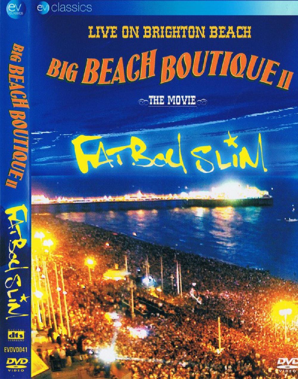 FATBOY SLIM - Big Beach Boutique II - The Movie - DVD