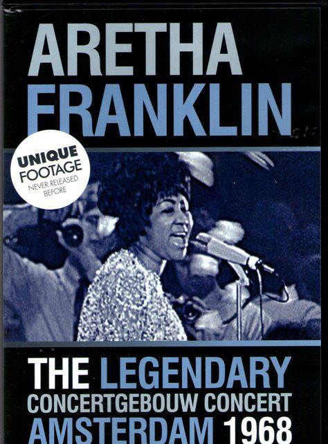 ARETHA FRANKLIN - The Legendary Concertgebouw Concert Amsterdam 1968 - DVD