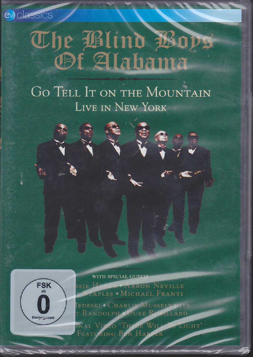 THE BLIND BOYS OF ALABAMA - Go Tell It On The Mountain - Live In New York - DVD