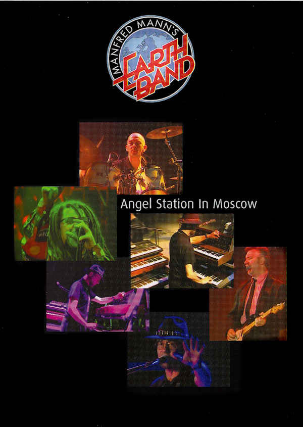 MANFRED MANN`S EARTH BAND - Angel Station In Moscow - DVD