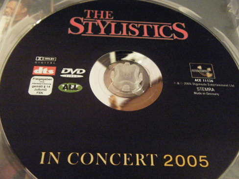 THE STYLISTICS - In Concert 2005 - DVD