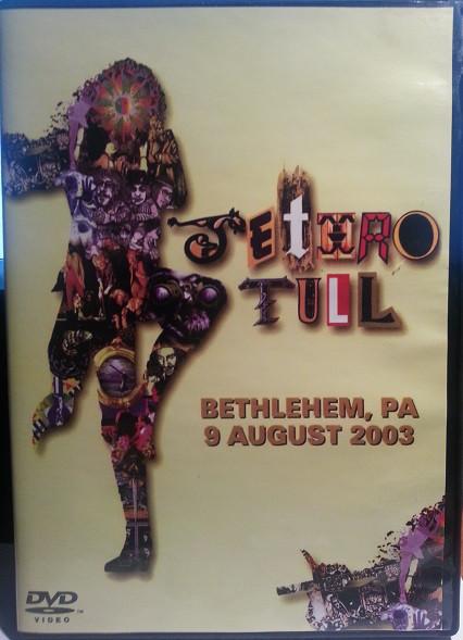 JETHRO TULL - Songs From Bethlehem - DVD