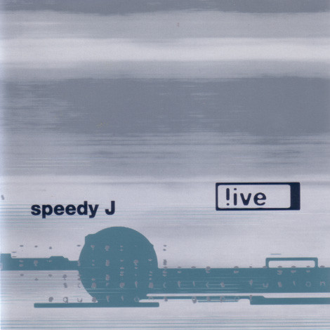 SPEEDY J - !ive - CD