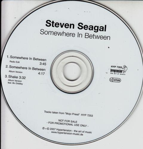 STEVEN SEAGAL - Somewhere In Between - CD single