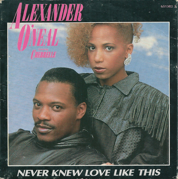 ALEXANDER O`NEAL - Never Knew Love Like This - CD