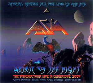 ASIA - Spirit Of The Night: The Phoenix Tour Live In Cambridge 2009 - CD