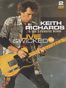 RICHARDS, KEITH - Live and wicked 1992 - DVD
