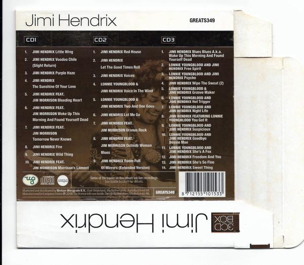 Jimi Hendrix Voodoo Chile Greatest Hits