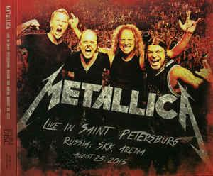 metallica live in saint petersburg, russia, skk arena, august 25, 2015
