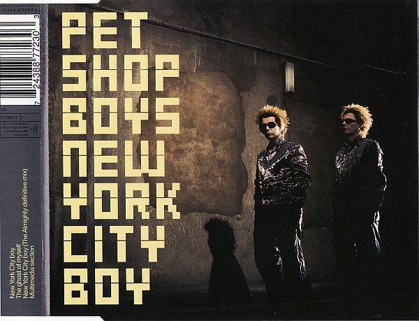 PET SHOP BOYS - New York City Boy - CD single