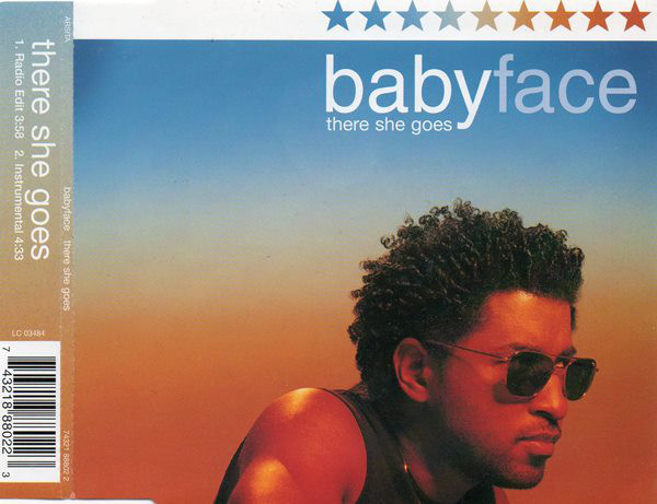 BABYFACE - There She Goes - CD single