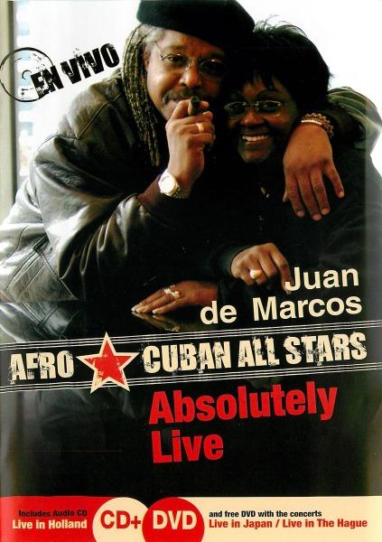 GONZALES, JUAN DE MARCOS - ABSOLUTELY LIVE -DVD+CD- (nieuw) - DVD