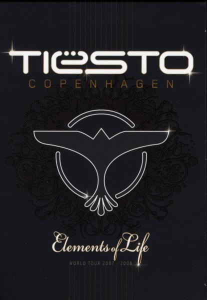 TIESTO - COPENHAGEN-ELEMENTS OF.. (nieuw) - DVD