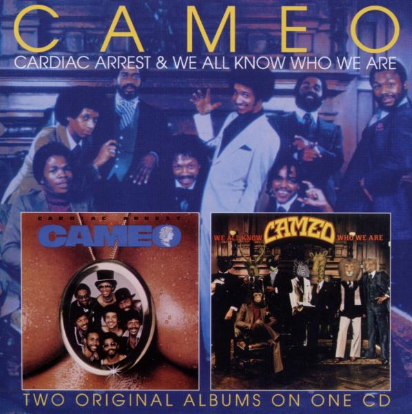 CAMEO - CARDIAC ARREST/WE ALL KNOW WHO WE ARE (nieuw) - CD