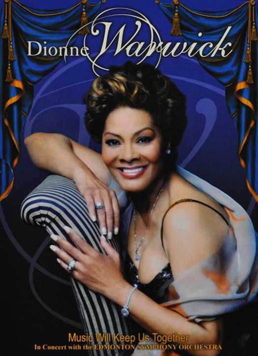 DIONNE WARWICK - LOVE WILL KEEP US TOGETHER (nieuw) - DVD
