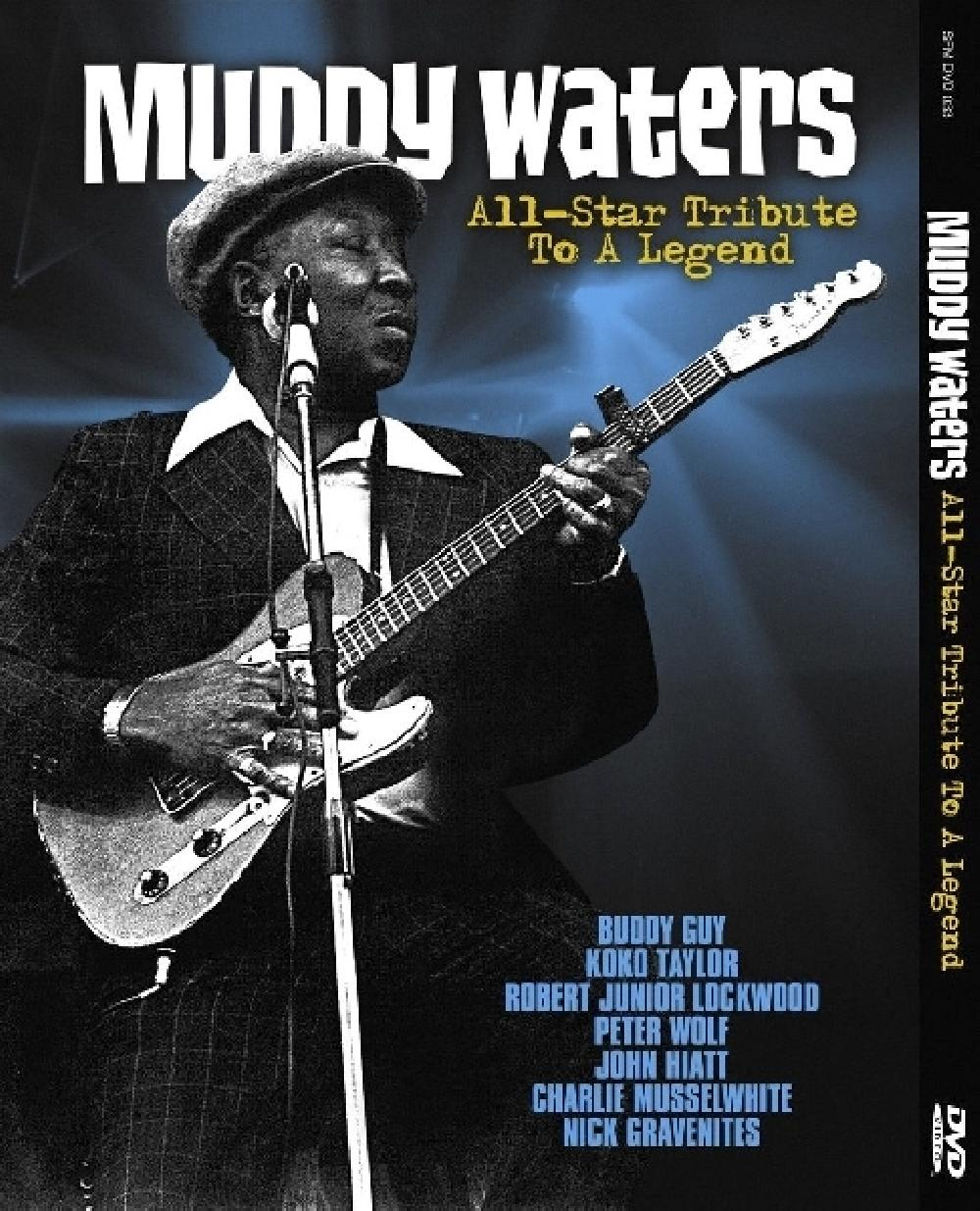 MUDDY. WATERS TRIB - ALL-STAR TRIBUTE TO A.. (nieuw) - DVD