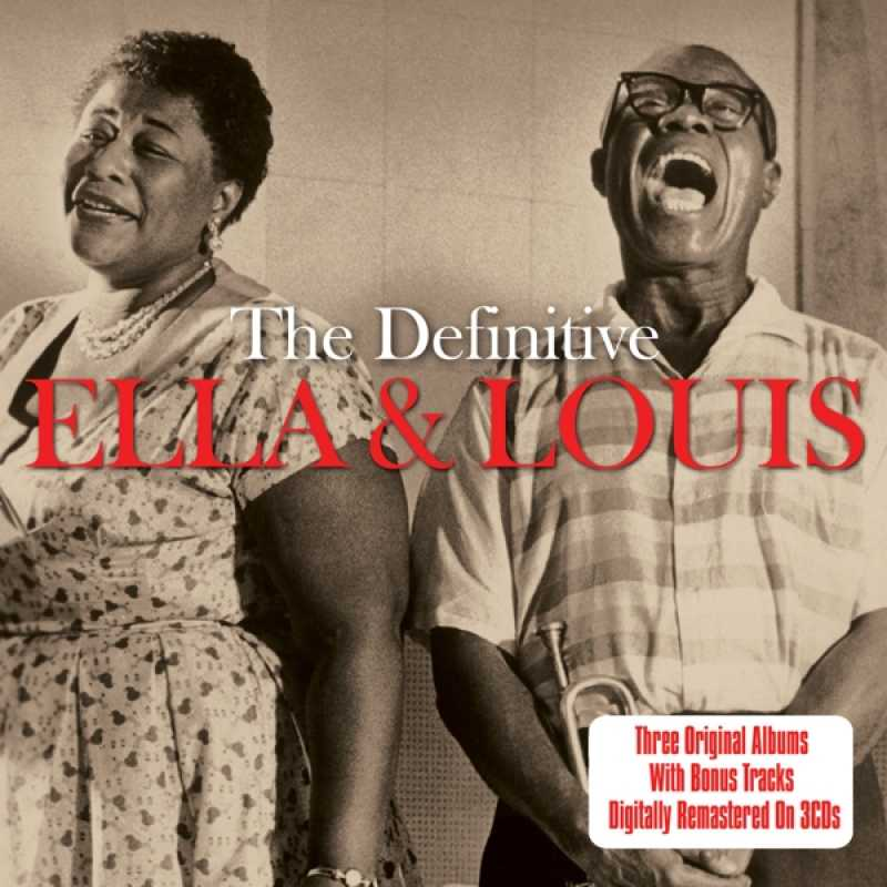 ELLA FITZGERALD/LOUIS ARMSTRONG - DEFINITIVE (nieuw) - CD