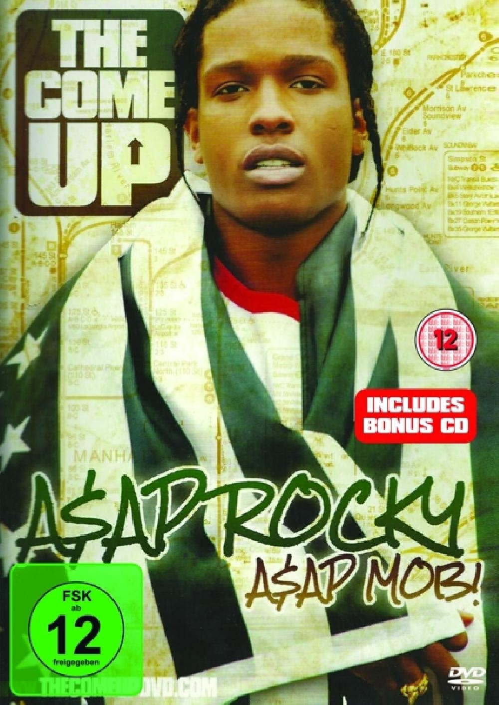 ASAP ROCKY - ASAP MOB: THE.. -DVD+CD- (nieuw) - DVD