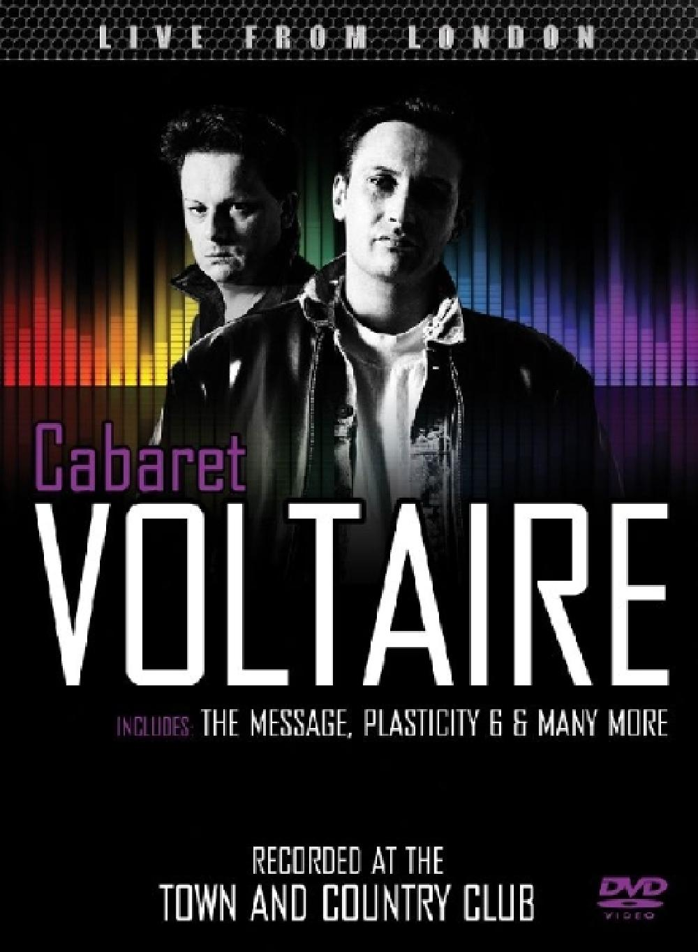 CABARET VOLTAIRE - LIVE FROM LONDON (nieuw) - DVD