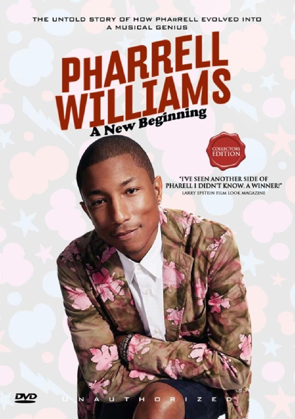 PHARRELL WILLIAMS - A NEW BEGINNING (nieuw) - DVD