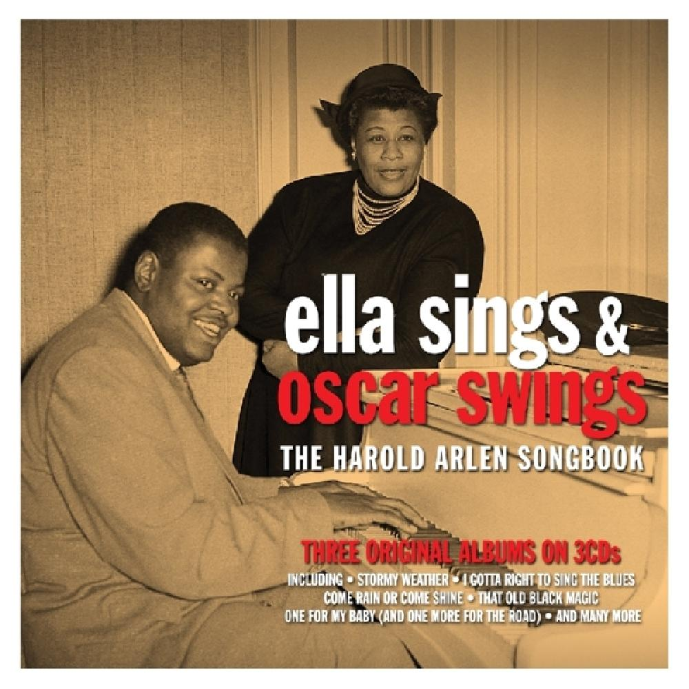 ELLA FITZGERALD &, OSCAR PETERSON - ELLA SINGS &, OSCAR SWINGS - HAROLD ARLEN SONGBOOK (nieuw) - CD