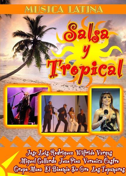 VARIOUS - SALSA Y TROPICAL (nieuw) - DVD