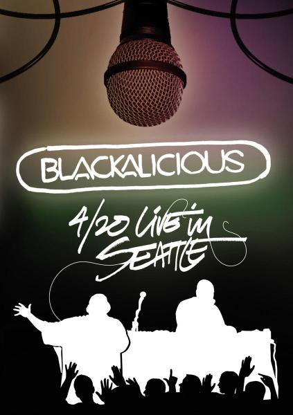 BLACKALICIOUS - LIVE IN SEATTLE (nieuw) - DVD