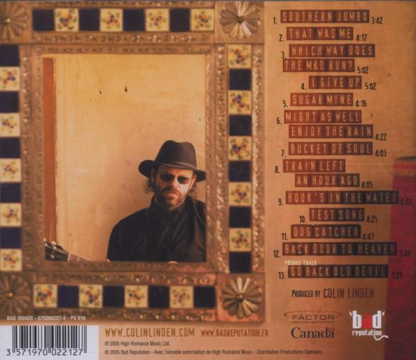 COLIN LINDEN - SOUTHERN JUMBO (nieuw) - CD