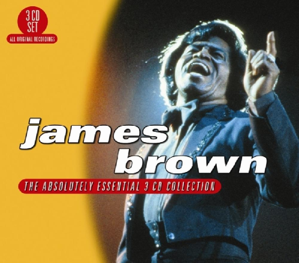 james brown ABSOLUTELY ESSENTIAL 3.. (nieuw)