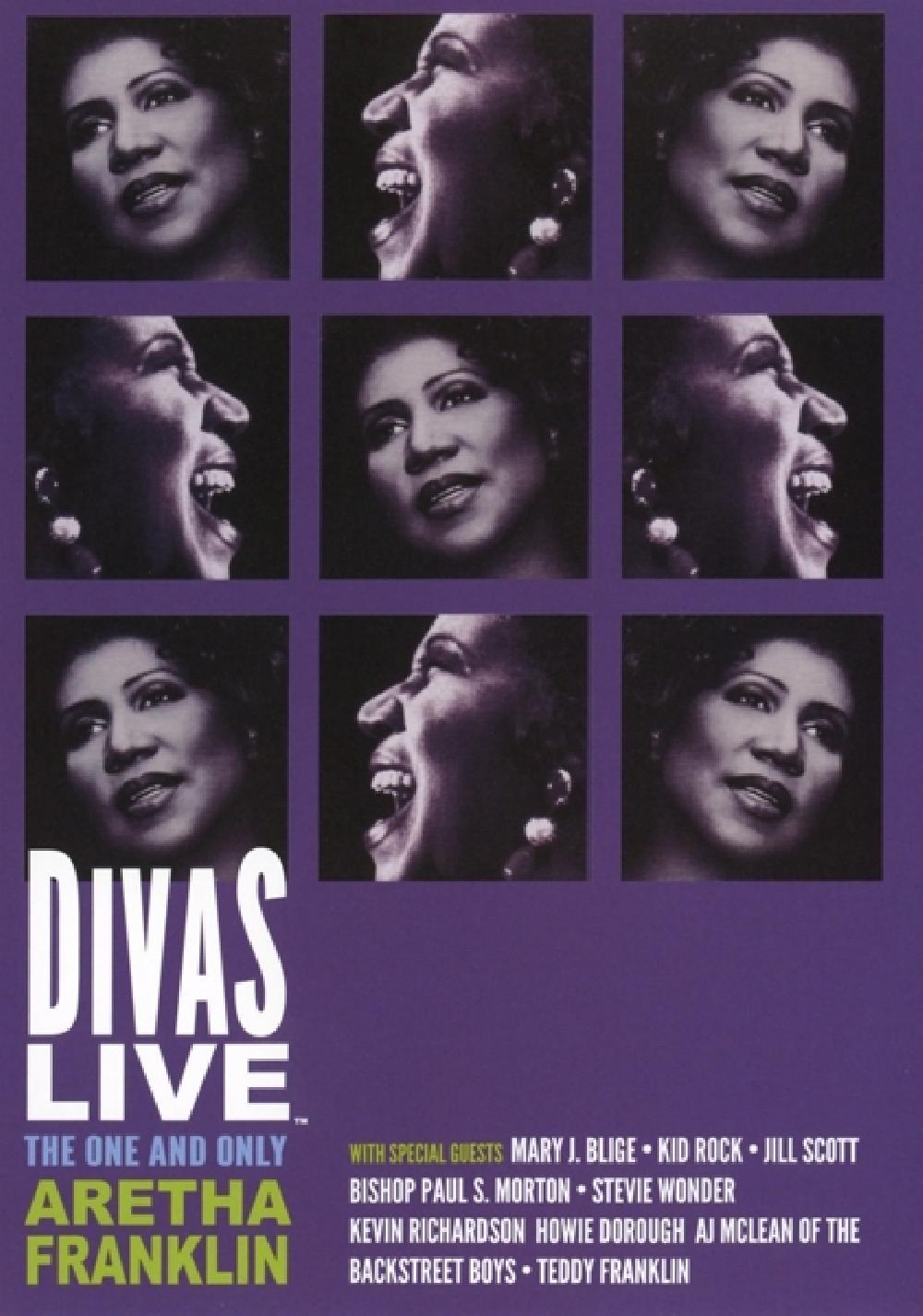 ARETHA FRANKLIN - DIVAS LIVE (nieuw) - DVD