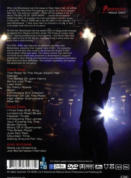 JOE BONAMASSA - LIVE FROM THE ROYAL.. (nieuw) - DVD