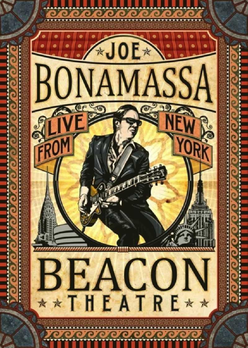 JOE BONAMASSA - BEACON THEATRE: LIVE.. (nieuw) - DVD